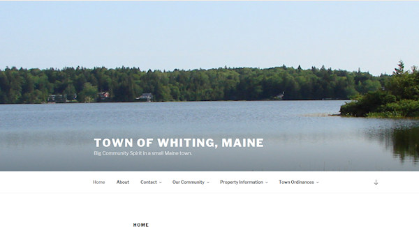 Town of Whiting, Maine