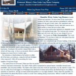 Chandler River Cedar Log Homes